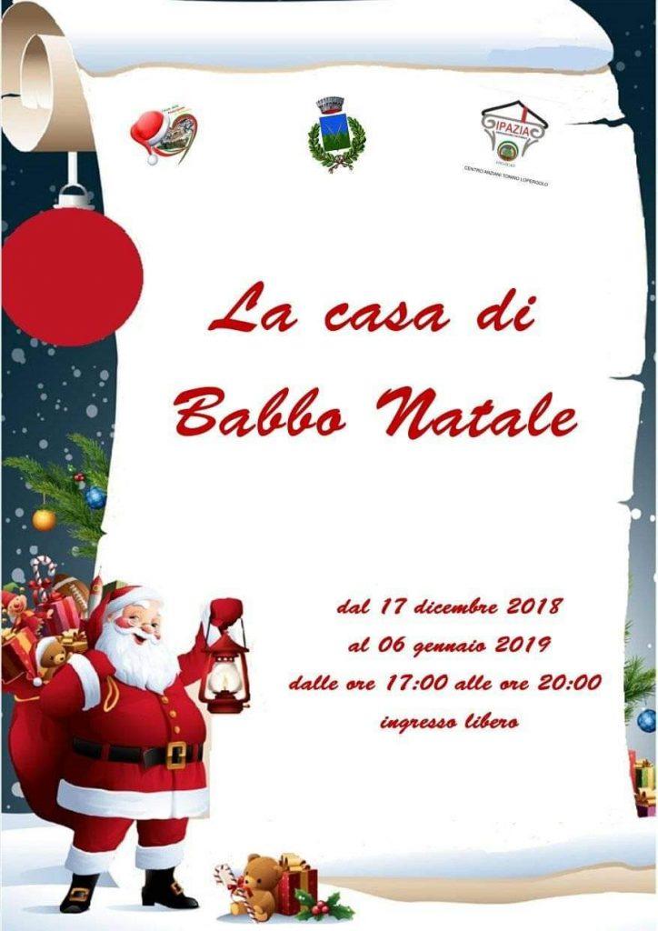 Casa Babbo Natale 2019.La Casa Di Babbo Natale A Salandra Il Lucano Magazine Una