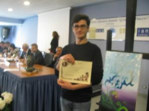 Il vincitore potentino Antonio Romano