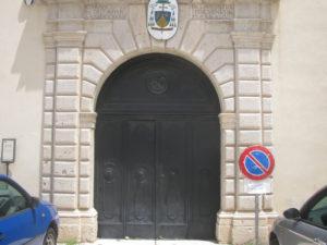 Ingresso del museo diocesano di Venosa