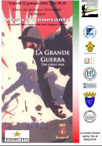 Mostra LA GRANDE GUERRA locandina